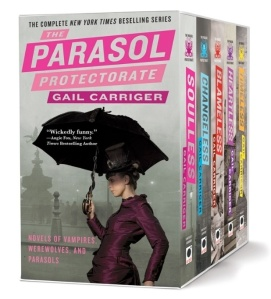 Gail Carriger's Parasol Protectorate (Image via Buzzfeed)