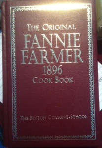 The Original Fannie Farmer 1896 Cookbook. If you were to pick just one old-timey cookbook for your reference library, I'd go with this one. In addition to actually useable recipes, it includes lots of information on when various foods are in season and available in the local markets. (Image: Shala Howell)