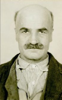 Lawrence Marek, who worked at the asylum as a gravedigger for 31 of his 52 years at Willard. (Photograph from the Willard Suitcase Exhibit online)