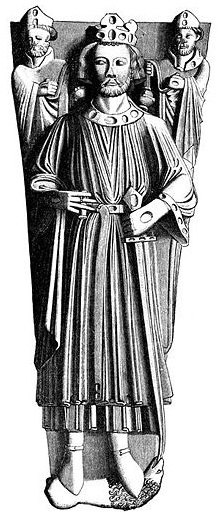 King John of England. Shifty-eyed even in effigy. (Photo via Wikipedia)