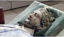 Effigy of King Richard I (c. 1199) from Fontevraud Abbey, Anjou. (Image via Wikipedia)