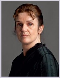 I am never vulgar. (Photo of Miss O'Brien via Downtown Abbey Wikia)