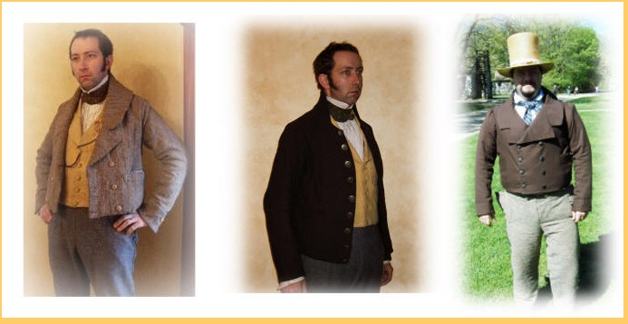 A sampling of roundabout jackets. (Image:  Custom Vestments www.customvestments.com)