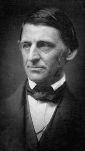 Ralph Waldo Emerson. (Photo via Wikipedia)