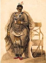 "19th C illustration of Sarah ""Saartjie"" Baartman (Image via Wikipedia Commons)"