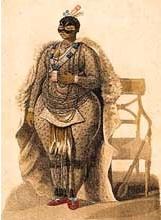 """19th C illustration of Sarah """"Saartjie"""" Baartman (Image via Wikipedia Commons)"""