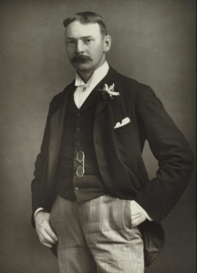 Jerome K. Jerome in 1890. (Source: National Media Materials, via Wikipedia)