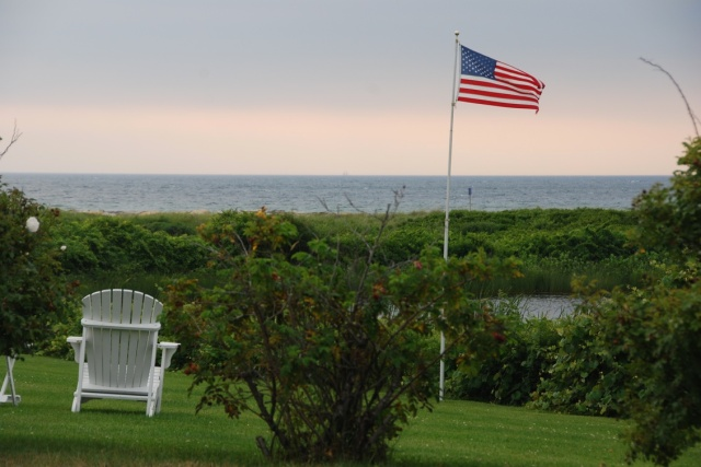 Photo by Michael Howell, of a long-ago July day somewhere on Cape Cod.