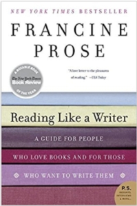 The cover of Francine Prose's Reading Like a Writer